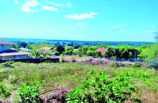 Land in a highly residential area